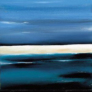 SG119 abstract sea ocean seacsapes beach water blue beige sky