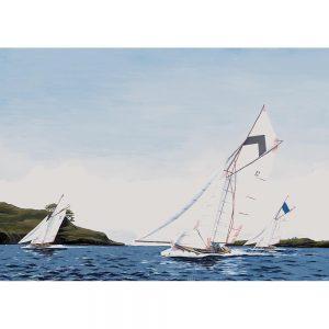 SG185 sailing boats sailboat sea water ocean