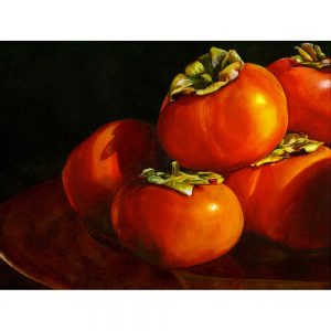 SG1869 tomatoes still life oil paint painting