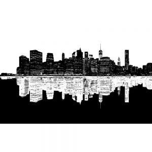 SG2042 america silhouette new york skyline