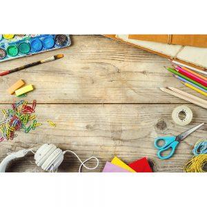 SG2063 desk artist stationery objects paints