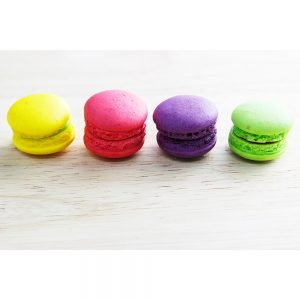 SG2079 macaroons yellow red purple green