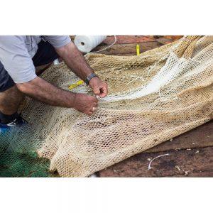 SG2081 repairing fishing net