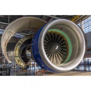 SG2189 jet engine maintenance hangar