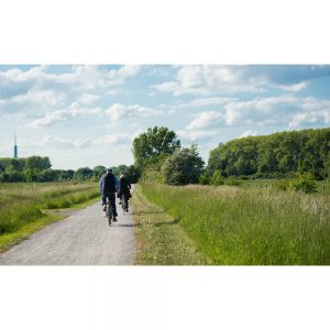 SG2194 mature couple riding bike