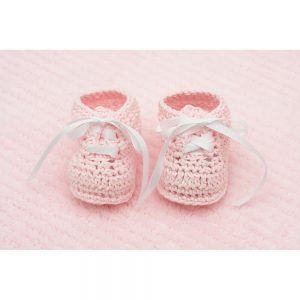 SG2272 baby booties pink