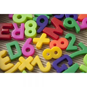 SG2426 magnetic letters digits numbers
