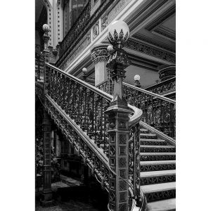 TM1256 architecture classic stairs mono
