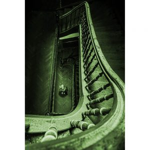 TM1276 architecture green bannister