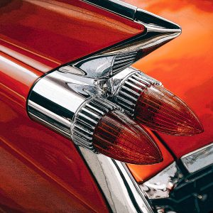 TM1314 automotive american cars rocket lights orange