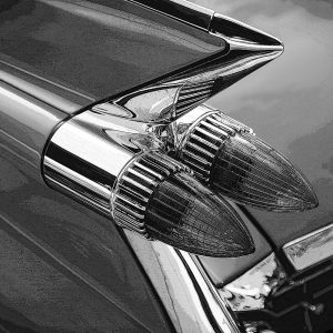 TM1315 automotive american cars rocket lights mono