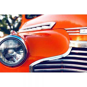 TM1318 automotive american cars chevvy orange