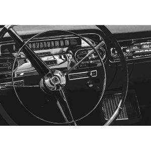 TM1327 automotive american cars wheel mono