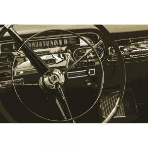 TM1328 automotive american cars wheel sepia