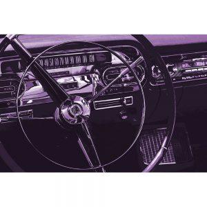 TM1329 automotive american cars wheel purple