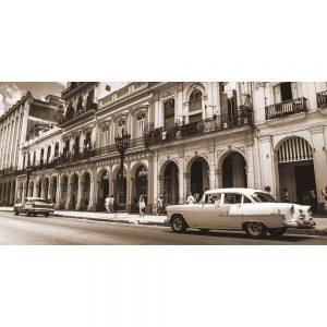 TM1359 automotive cuban cars sepia