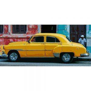 TM1365 automotive cuban cars yellow