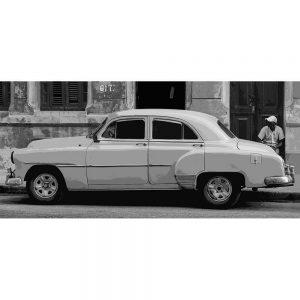 TM1367 automotive cuban cars mono