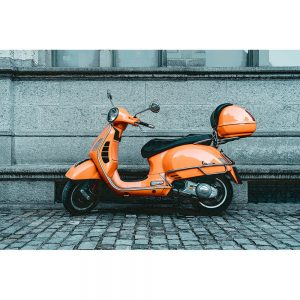 TM1463 automotive scooters vespa orange