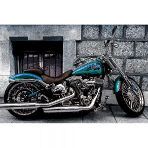 TM1502 automotive motorcycles blue