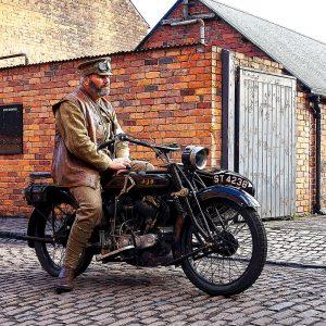 TM1505 automotive motorcycles ajs vintage