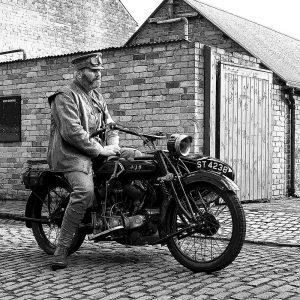 TM1506 automotive motorcycles ajs mono