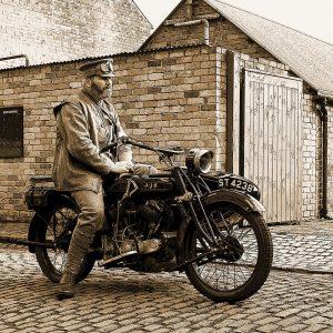 TM1507 automotive motorcycles ajs sepia
