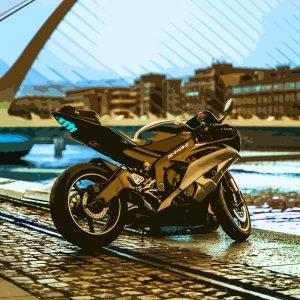 TM1523 automotive motorcycles racer