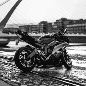 TM1524 automotive motorcycles racer mono
