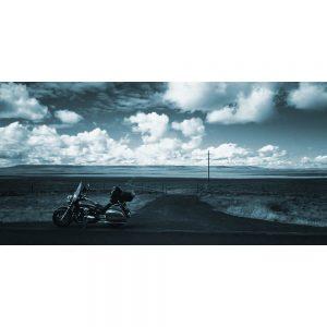 TM1528 automotive motorcycles touring blue