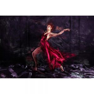 TM1701 ballet dancer painterly