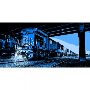 TM2302 loco retro blue