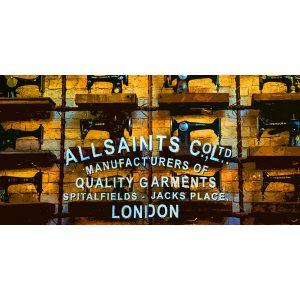 TM2551 all saints spitalfields london yellow