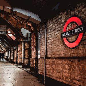 TM2555 baker street underground london