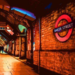 TM2556 baker street underground bright