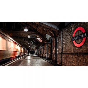 TM2557 baker street underground london