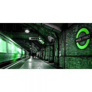 TM2558 baker street underground london green