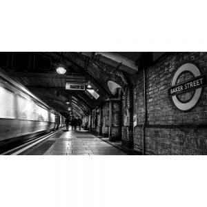TM2559 baker street underground london mono
