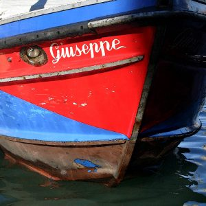 TM2726 venice boat guiseppe red