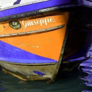 TM2727 venice boat guiseppe orange