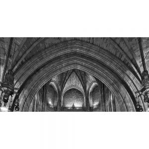 TM2765 liverpool cathedral interior mono