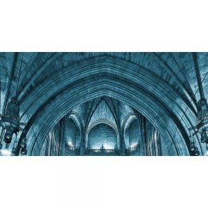 TM2766 liverpool cathedral interior blue