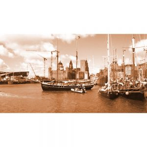 TM2767 liverpool tall ships sepia