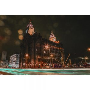 TM2772 liver birds liverpool night