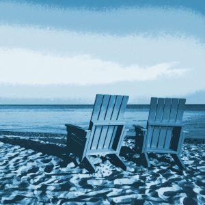 TM2807 chairs beach bright blue