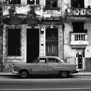 TM2872 cuban classic american car mono