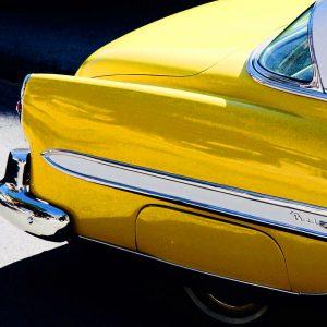 TM2981 yellow belair american car