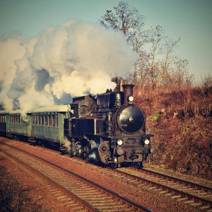 SG2703 czech steam train retro locomotive