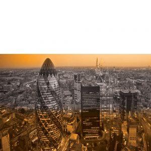 SG3829 london uk cityscape black white orange