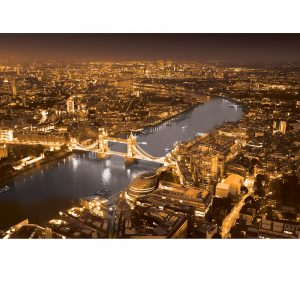 SG3830 london uk cityscape black white orange